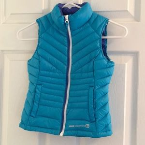 Girls down vest